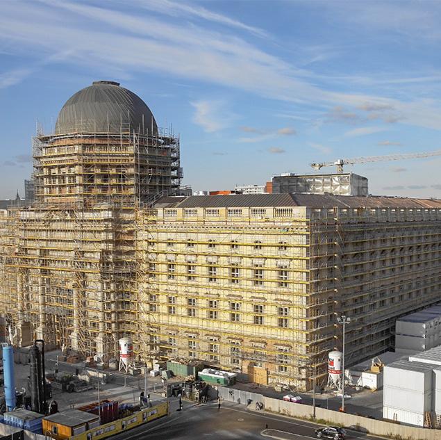 Reichel Projektmanagement - Projekt: Neubau Berliner Schloss - Baulogistik / SiGeKo